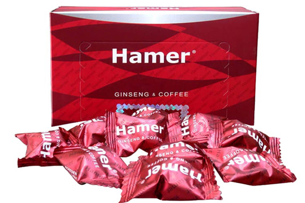 Kẹo sâm Hamer là dòng sản phẩm nổi tiếng tại Mỹ