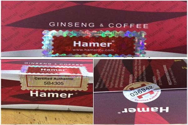 Trên mỗi hộp sản phẩm đều có tem chống hàng giả do nhà sản xuất cung cấp