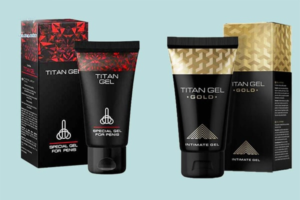 Trên thị trường đang có 2 loại gel Titan Vàng và Đỏ