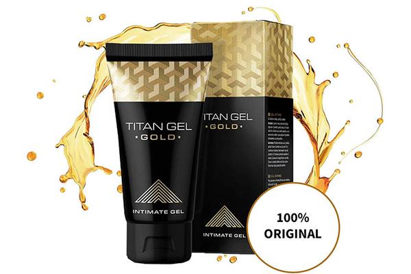 Gel Titan được chiết xuất từ các thành phần tự nhiên